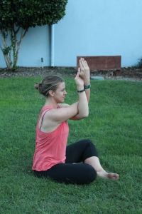 Eagle Pose Arms