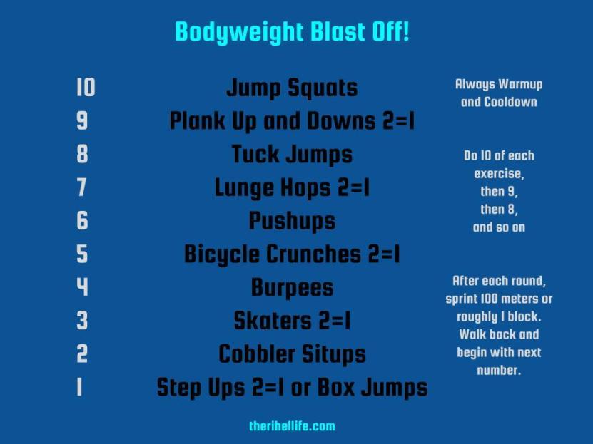 Bodyweight Blastoff!