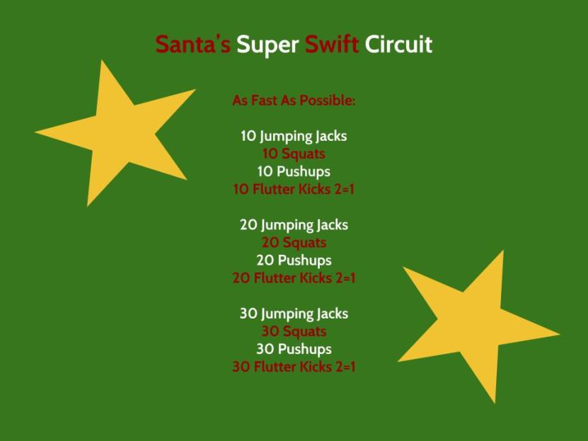 Santa's Super Swift Circuit