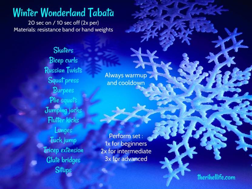 Winter Wonderland Tabata