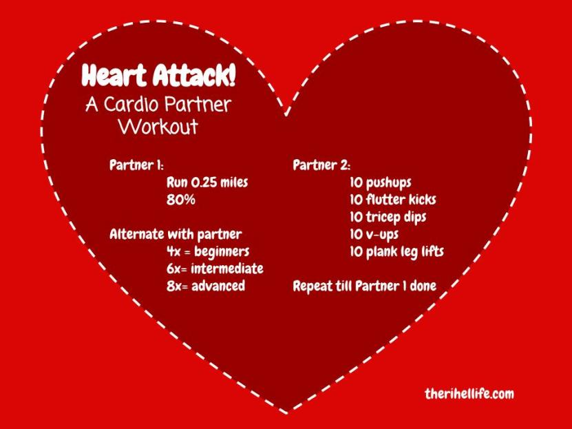 Heart Attack- Cardio Partner Workout