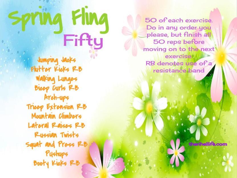 Spring Fling Fifty
