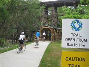Bike, Hike, Run... whatever your mode of transportation, find your trail at traillink.com