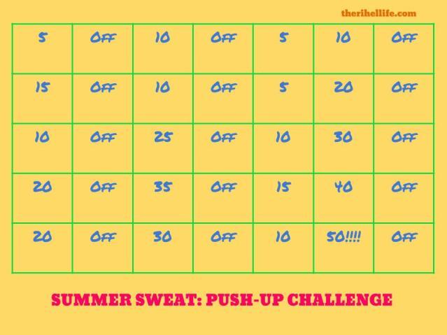 June Challenge- Pushups