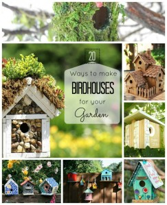 Let's make some birdhouses this spring with this inspiration from craftionary.net!