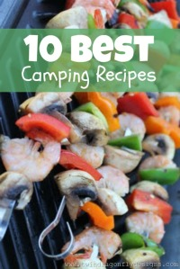 Fun and easy camping recipes from  www.okanagan4kids.com