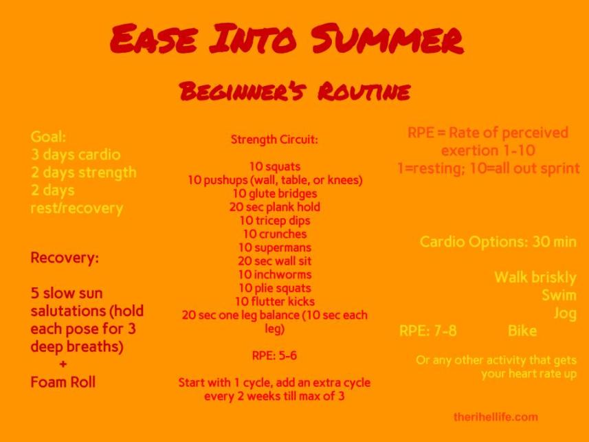 Ease Into Summer