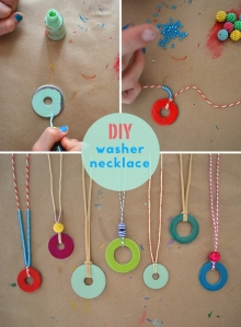 Super cute washer necklaces from smalltobig.com