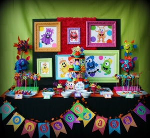 colorful_monster_bash_party_girl_boy_birthday_cake_sweets_decorations