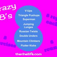 Workout Wednesday: Crazy 8's